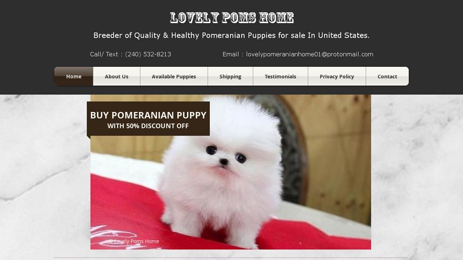 Lovelypomeranianpupshome.net - Pomeranian Puppy Scam Review