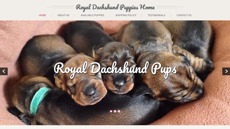 Royaldachshundpups.com - Dachshund Puppy Scam Review