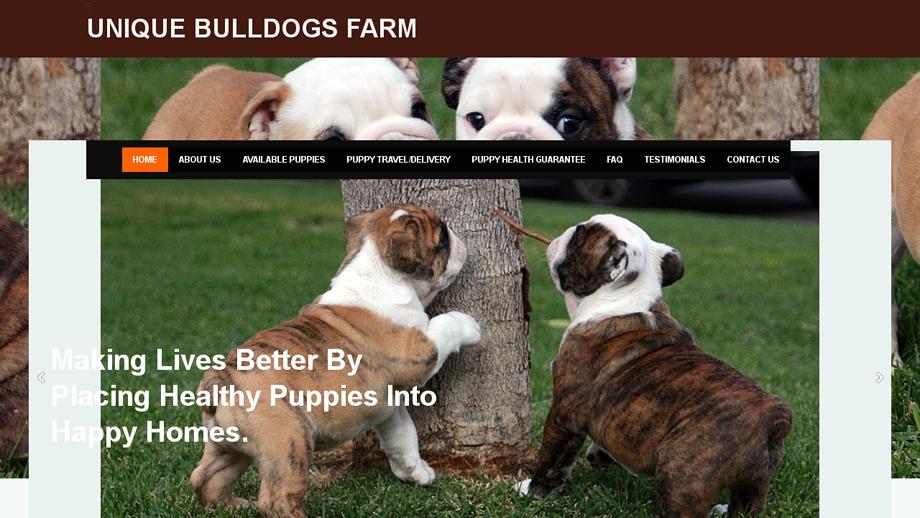 Uniquebulldogsfarm.com - Bulldog Puppy Scam Review