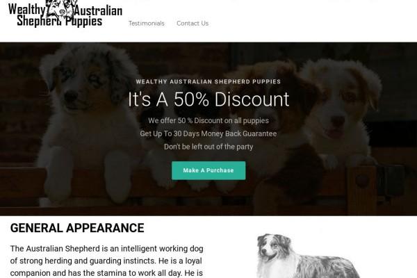Wealthyaustralianshepherdpuppies.com - Germanshepherd Puppy Scam Review
