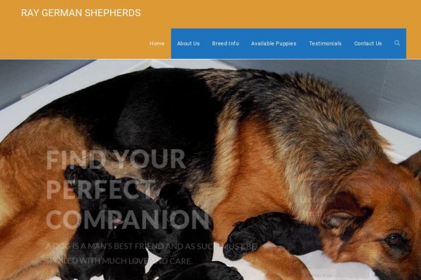 Raygermanshepherds.com - Germanshepherd Puppy Scam Review