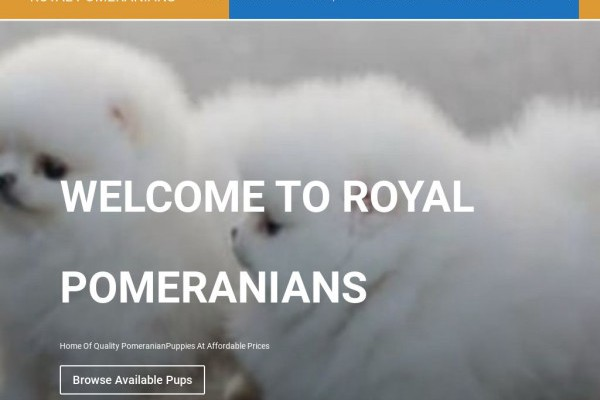 Royalpomeranians.com - Pomeranian Puppy Scam Review