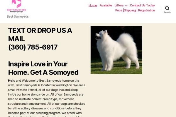 Bestsamoyeds.com - Samoyed Puppy Scam Review