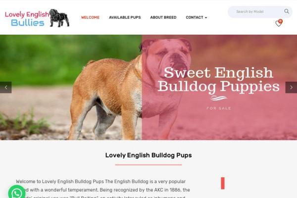 Lovelyenglishbulldogpuppies.com - English Bulldog Puppy Scam Review