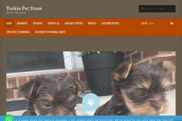 Prettyyorkieshop.com - Yorkshire Terrier Puppy Scam Review